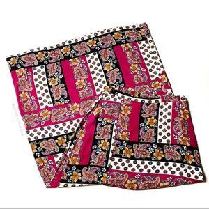 NWT Minkpink Bohemian Paisley Pattern Maxi Skirt M